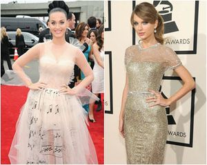 10 Selebriti dengan Gaun Terbaik di Red Carpet Grammy Awards 2014