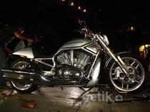 Harley Davidson Milik Wawan Disita