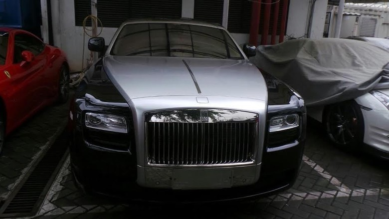 Ini Penampakan Rolls-Royce Ghost, Mobil Termahal Wawan yang Disita KPK