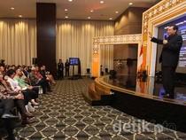 Chairul Tanjung Berikan Seminar Pendidikan