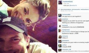 Tunangan, Mila Kunis Nyatakan Cinta ke Ashton Kutcher