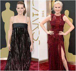 Foto: 8 Selebriti dengan Busana Terburuk di Oscar 2014