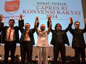 Debat Capres Konvensi Rakyat