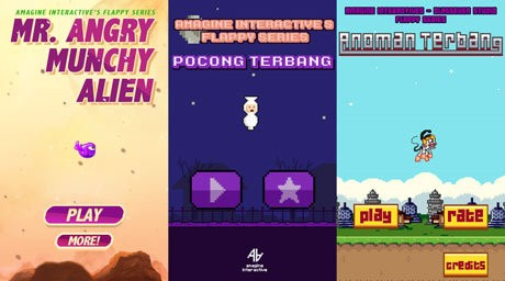 3 game Flappy Series (amagine)
