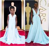 Foto: Lucunya Para Balita Didandani ala Seleb di Oscar 2014