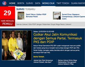 Ikuti Serunya Pemilu 2014 Lewat detikPemilu.com