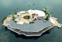 Pulau Buatan Super Mewah Siap Dibangun