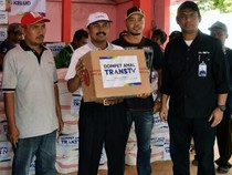 TransTV Peduli Korban Gunung Kelud