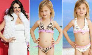 Rilis Bikini untuk Anak-anak, Liz Hurley Dikritik