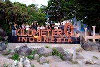 Selamat datang di kilometer 0 ujung barat Indonesia