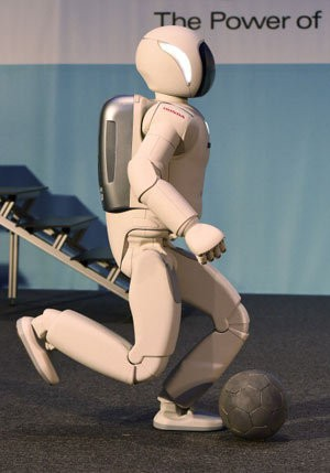 Robot Asimo (gettyimages)
