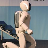 Robot Asimo Terus Berlari