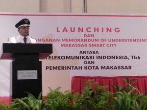 Usai Dilantik, Walikota Makassar Langsung Kerja Teken Proyek Smart City