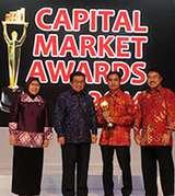 Kinerja Gemilang, Telkom Raih Emiten Saham Terbaik 2014