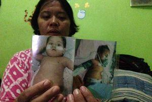 Jantung Anaknya Digerogoti Tumor, Janda di Cilincing Butuh Bantuan