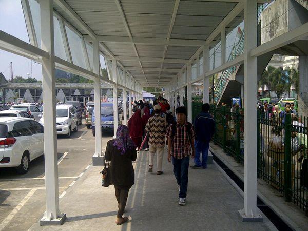 Dianggap Bikin Macet, Pintu Masuk Stasiun Bogor Resmi Dipindah