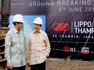 Seremoni Groundbreaking Lippo Thamrin