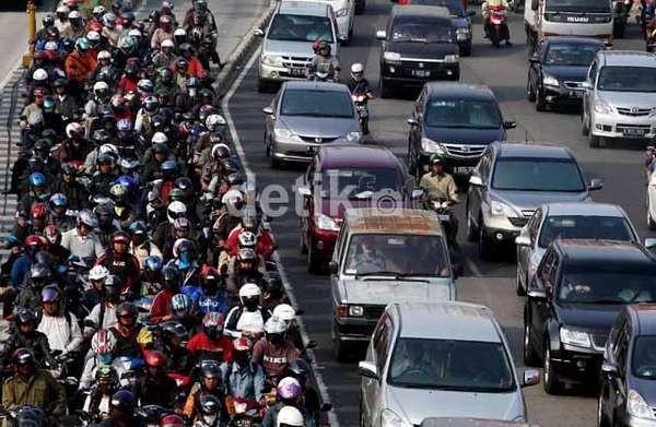 Populasi Motor di RI 86 Juta Unit, MS Hidayat Akui Susah Mengerem Produksi