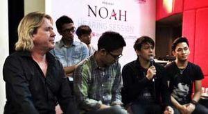 Lagu-lagu Baru NOAH Digarap Produser The Rolling Stones, U2, Morrissey hingga The Killers
