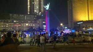 Kembang Api Akan Diluncurkan Tepat Pukul 00.00 WIB, Sambut HUT DKI