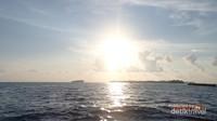 Senja di Pulau