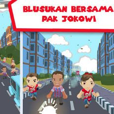 Ultah, Jokowi Dihadiahi Game Blusukan