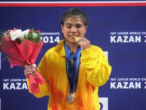 Atlet Angkat Besi RI Berjaya di Rusia