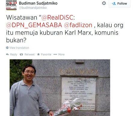 Mengaku Anti Komunis, Ini Alasan Fadli Zon Ziarah ke Makam Karl Marx