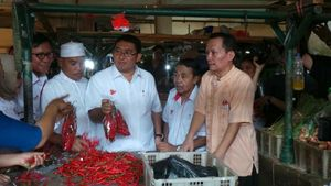 Kampanye di Pasar Pulogadung dan Klender, Fadli Zon Ditemani Sejumlah Artis