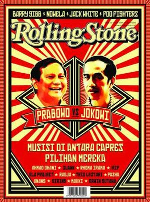 Cover Story: Prabowo Vs Jokowi: Ketika Para Musisi Terbelah