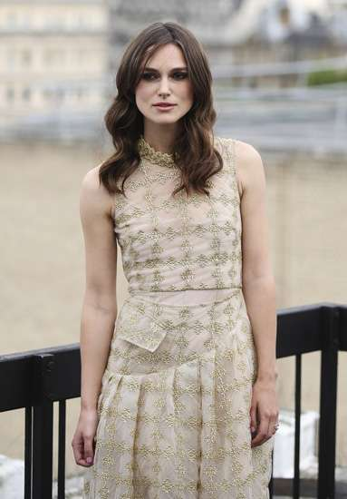 Pretty in Gold, Keira Knightley