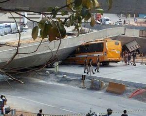 Jembatan Ambruk di Kota Tuan Rumah Piala Dunia, Satu Orang Meninggal