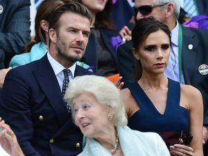 Victoria dan David Beckham Serasi di Wimbledon