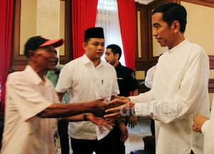 Jokowi Gelar Open House