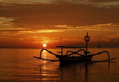 Sunrise Pantai Sanur Bali yang Menakjubkan