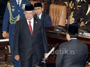 SBY Sampaikan Pidato Pengantar RAPBN 2015