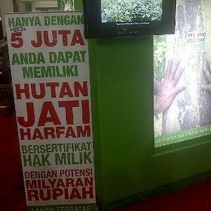 Jual Rumah Rp 110 Juta Hingga Hutan Jati 8 ha Rp 9,5 Miliar