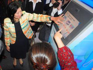 Menparekraf Tinjau Indonesia Banking Expo 2014