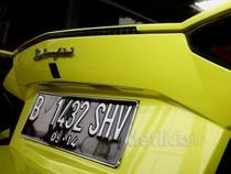 Lamborghini Ditahan di Polda Metro Jaya