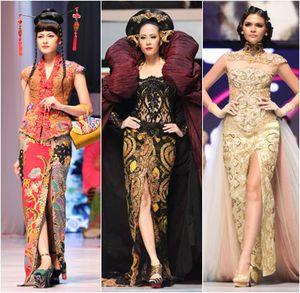 Anne Avantie Hadirkan Kebaya Polka Dot di Fashion Show Merenda Kasih