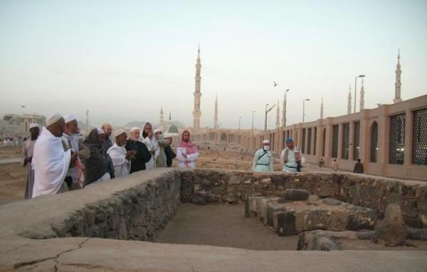 Kuburan Halimah Sadiyah, ibu susu Rasulullah