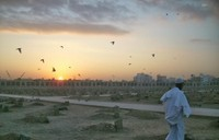 Sunrise di Pemakaman Baqi