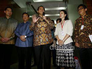 CT-Rini Soemarno Bahas Persiapan Jokowi Jadi Presiden
