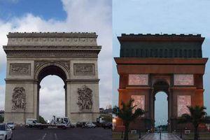 Monumen Arc de Triomphe Paris Pindah ke Kediri