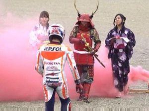 Marquez Jadi Samurai di Motegi