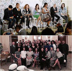 Foto: Melihat Isi Pesta Mode yang Digelar Michelle Obama di Gedung Putih