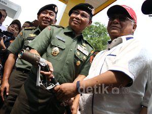 Pertamina Operasikan SPB Vi-Gas di Mabes TNI