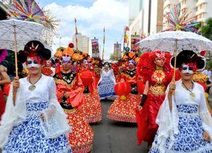 Meriahnya Jakarnaval 2014, Keajaiban Topeng Nusantara!