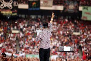 Syukuran Rakyat di Monas 20 Oktober Bertabur Bintang, dari Slank Hingga Syahrini