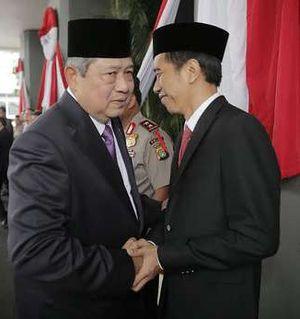 Usai Pelantikan, Jokowi Disambut SBY di Istana Negara Pukul 14.00 WIB
